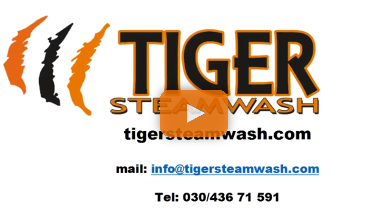 Tiger Steam Wash - Video